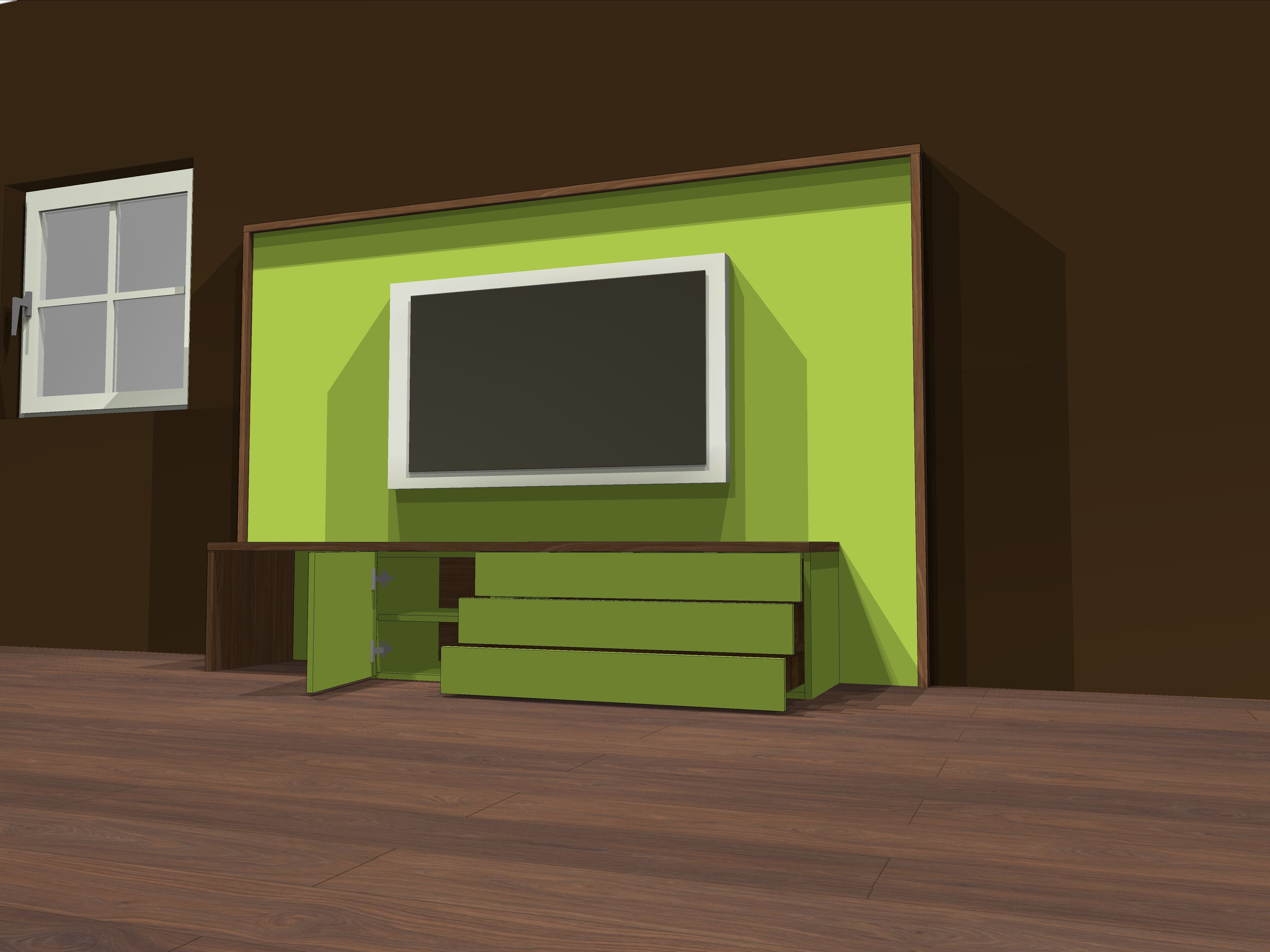 Lowboard Green-Nut 1.3