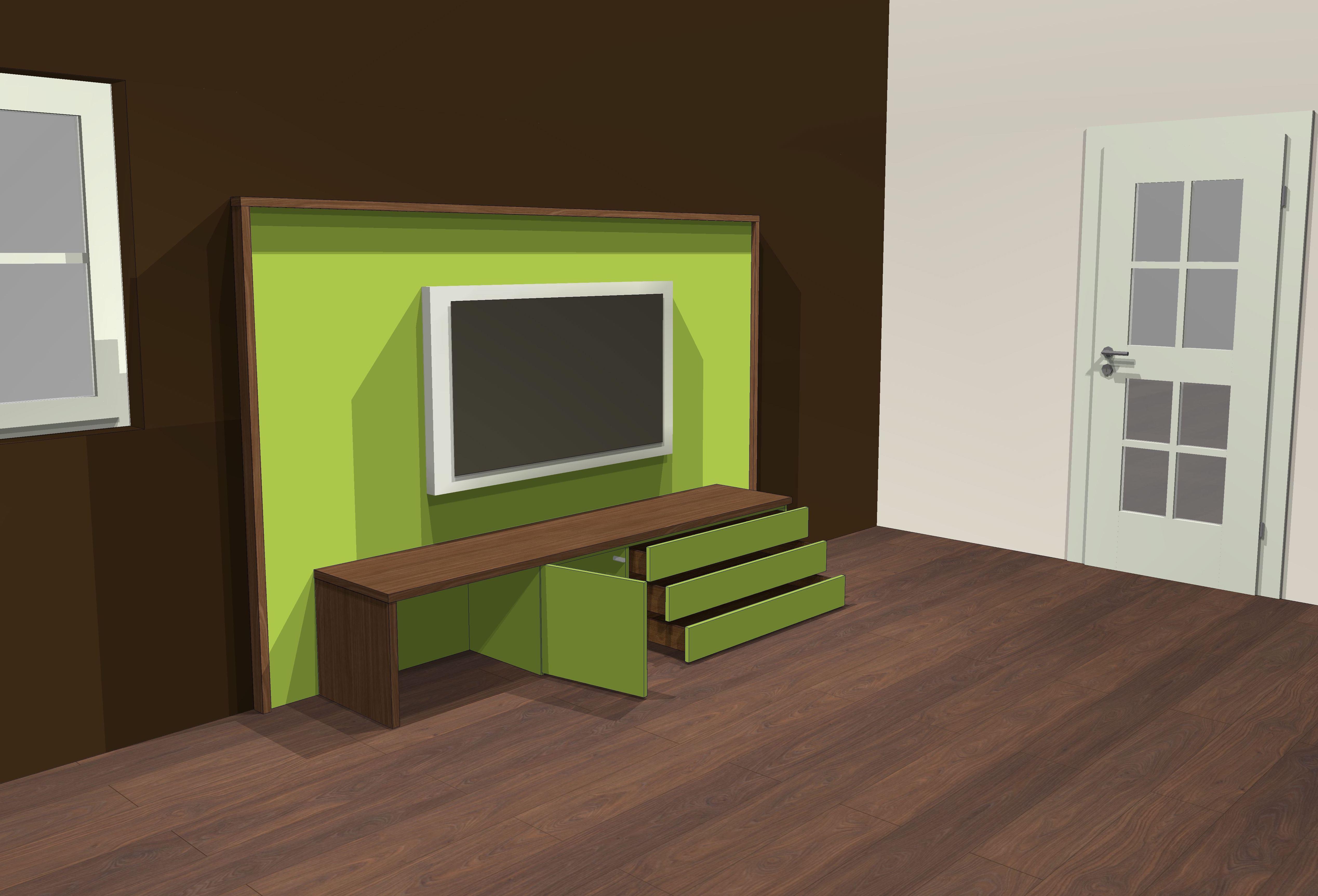 Lowboard Green-Nut 1.2
