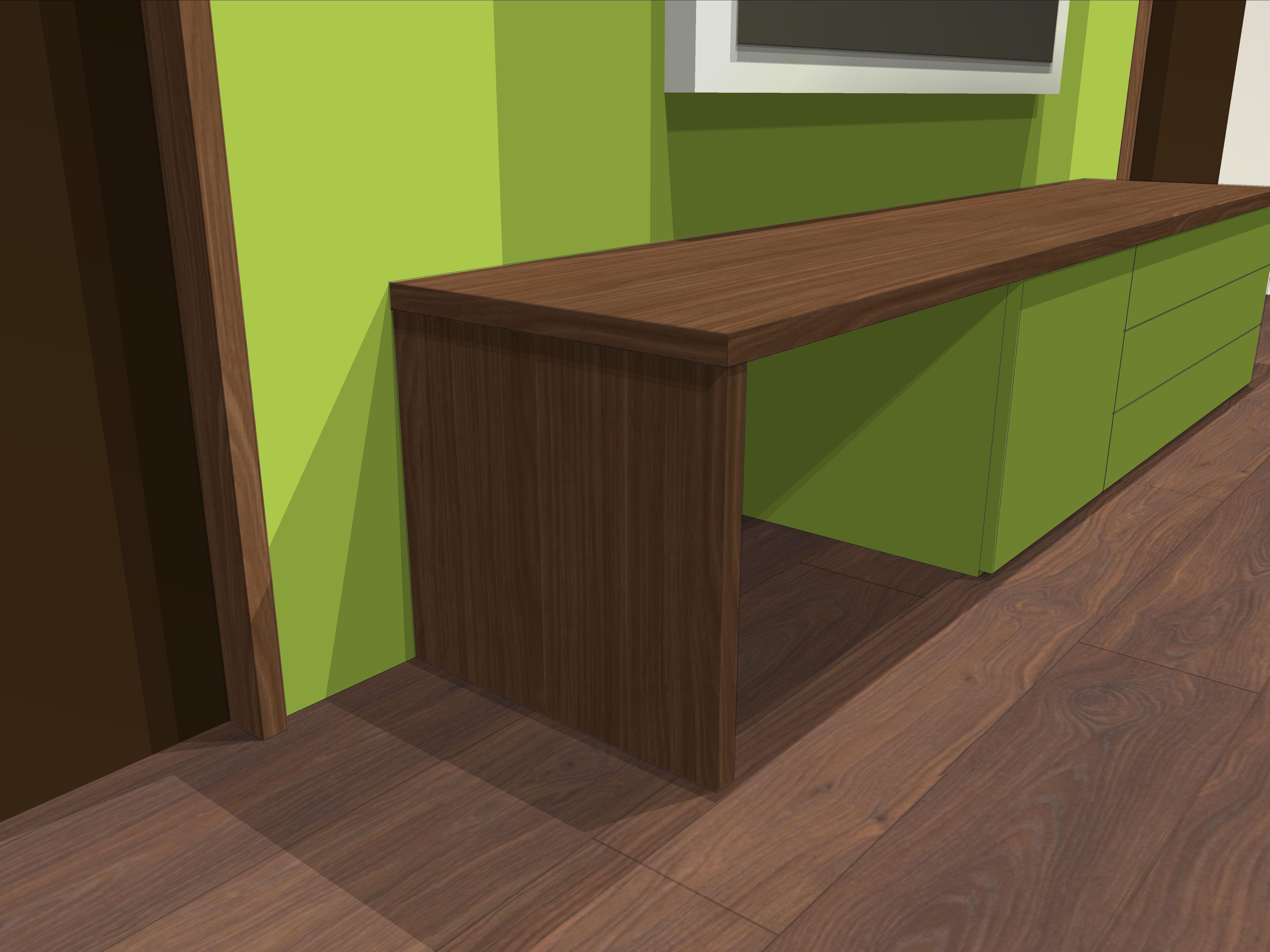 Lowboard Green-Nut 1.4