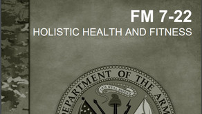 Review: FM 7-22 Holistic Health and Fitness (H2F)