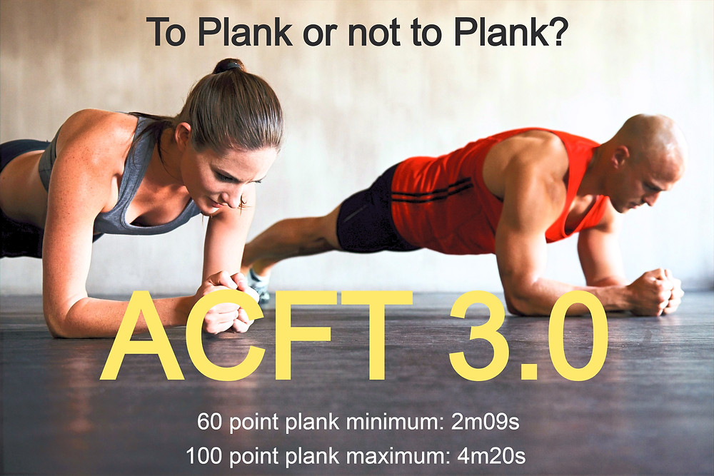 ACFT 3.0 Plank Standards