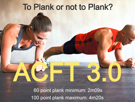ACFT 3.0 - A new way to Train for 600