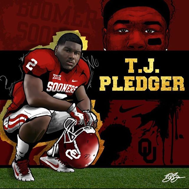 O to tj pledger, been knowing you, your whole life and I am extremely proud of you‼ you took god giv