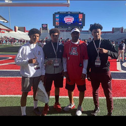 Some of our guys with U of A Head Coach