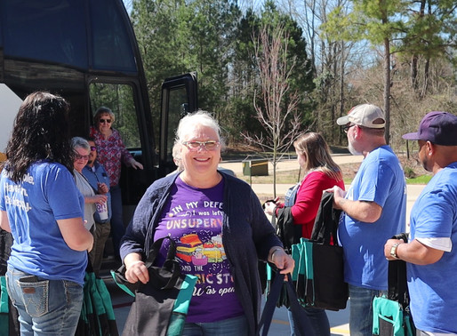 Stitchin' Heaven Experience: 1st Bus of the Season
