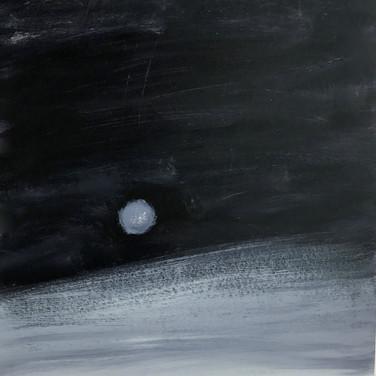 Lune de jour polaire