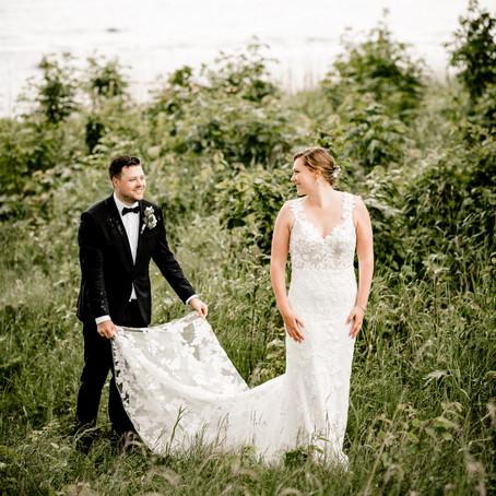 Bryllup på Refsnes Gods i Moss