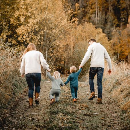 Familiefotografering i Vestfold