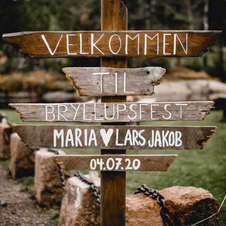 Bryllup med rustikk stil på Bakke Mølle i Vestfold