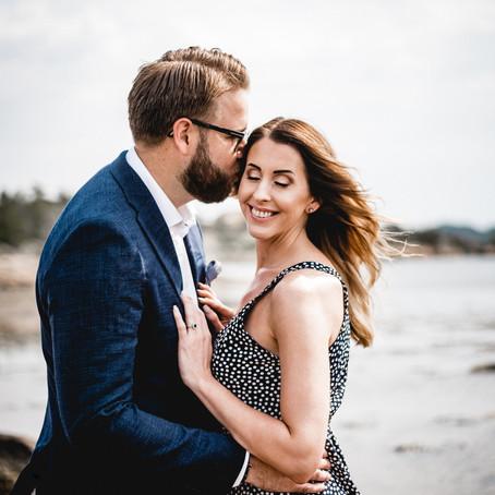 Forlovelsesfotografering i Larvik
