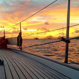 Sunset Sainte Anne, Martinique! _#endorp