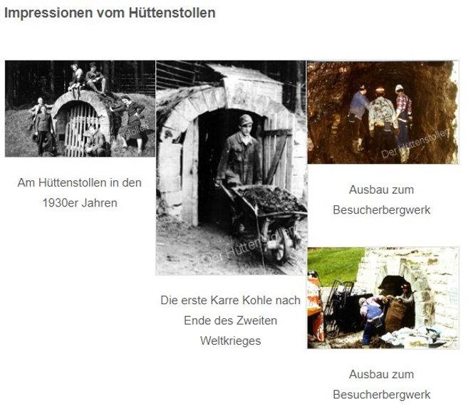 Besucherbergwerk Hüttenstollen Impressionen