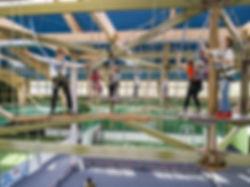 Kids-Dinoworld Hochseilgarten