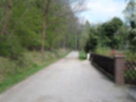 Wanderweg in Osterwald