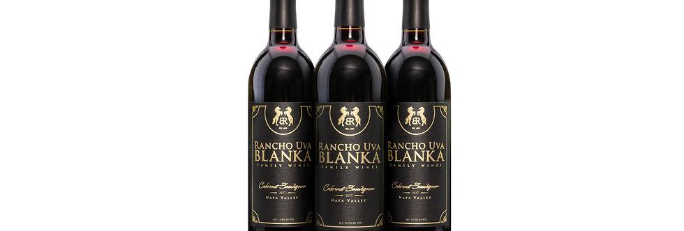 Rancho Uva Blanka Family Wines - 3x Cabernet Sauvignon