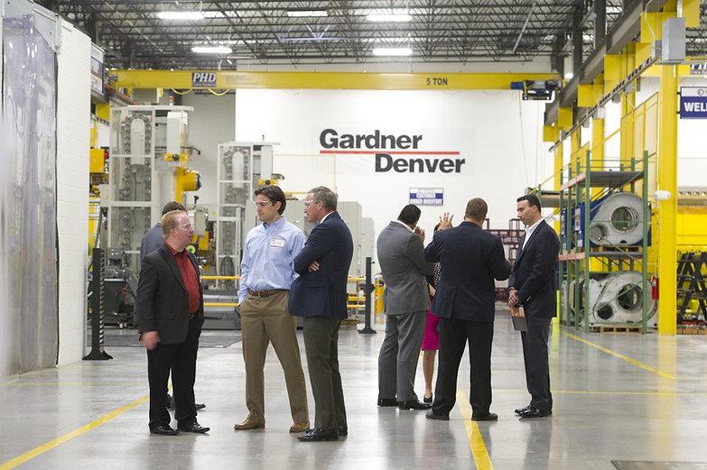 Gardner Denver Air Compressor Manufacturing Facility