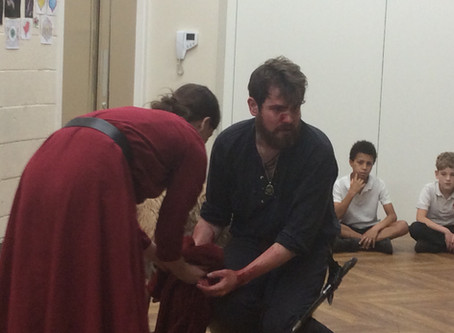 Young Shakespeare Company perform Macbeth!