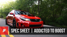 SPEC SHEET: Addicted to Boost