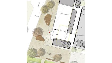 Hohberg Neubau Mehrzweckhalle