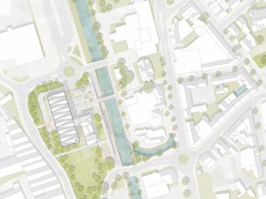 Anerkennung Realisierungswettbewerb Neubau Bürgerhaus in der Kreisstadt Olpe
