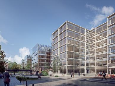 3. Preis im Realisierungswettbewerb für die Gewerbeimmobilie in der Gasstraße, Hamburg-Bahrenfeld.