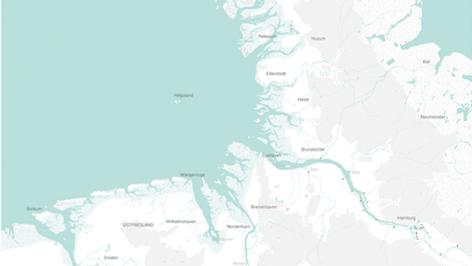Kurswechsel Küste