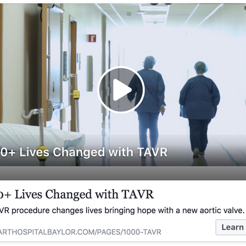 TAVR Campaign and Video