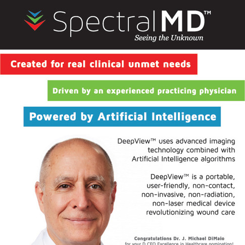 SpectralMD Magazine Print Advertisement