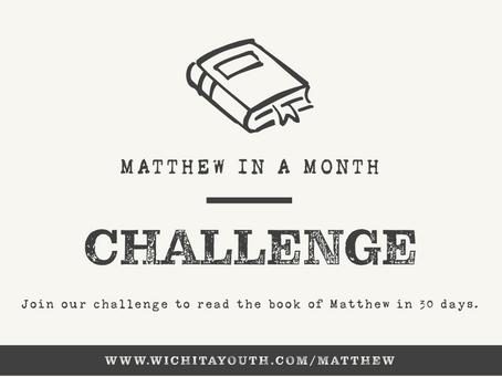 Matthew In a Month