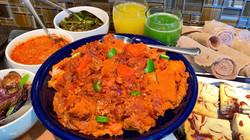 party feast Firfir shiro tibs