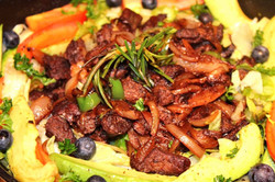 Tibs Avocado blueberry salad1