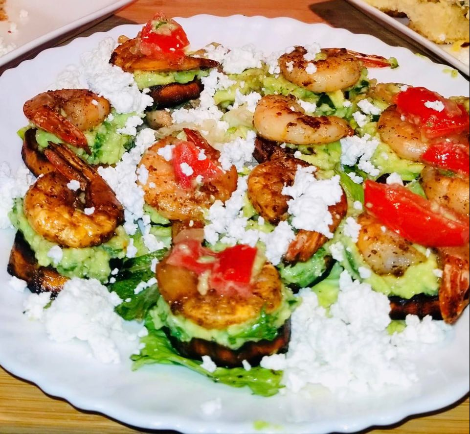 shrim cucumber salad