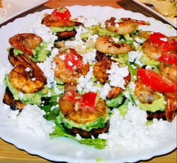 shrim cucumber salad
