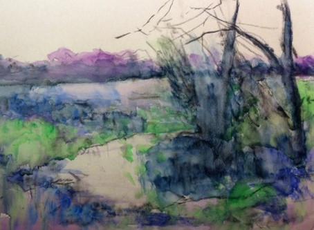 StudioSense: Pastel & Watercolor Underpainting
