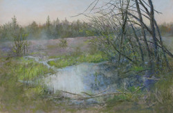 Dawn at Marton Pond