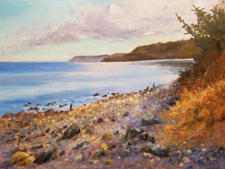New Painting: The Beachcombers