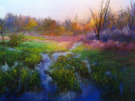 Pastel Painting Technique - A Lesson from Start to Finish