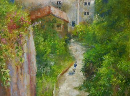Pastel Painting: Exploring Ravello