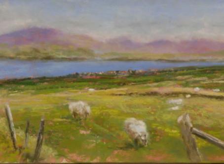 Pastel Paintings - Ireland Series