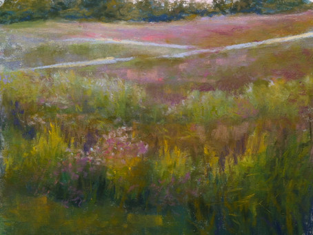 Pastel Painting: Judd Road Field