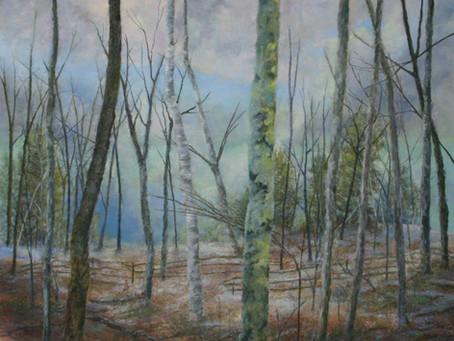 Pastel Painting: Woodland Waltz