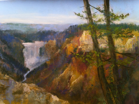 Pastel Technique: Grand Canyon of the Yellowstone