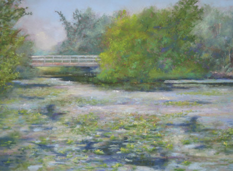 Pastel Painting: Huron Serenity