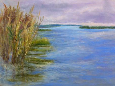 Pastel Painting: Wetland Wonders