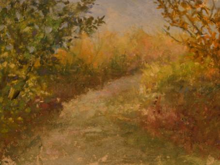 Pastel Painting: Lillie Park Path