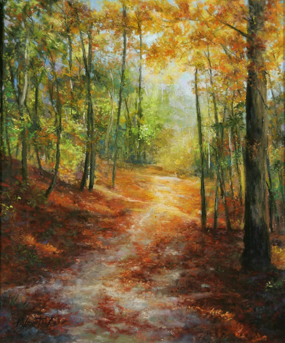Peak Color - Uart Award Winner Connecticut Pastel Society