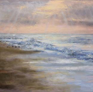 Sunrise Surf at Breezy Point