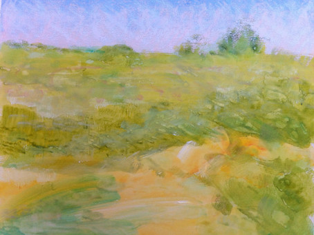 Pastel Technique: High Values at the Beach