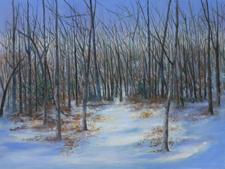 """Oil Painting: """"Clearing"""""""