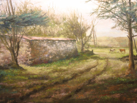 Pastel Paintings of Vacation Photos